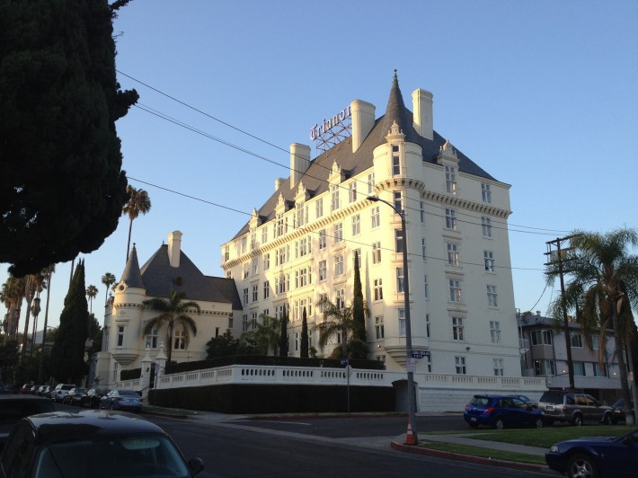Дом на Серрано Эвенью, в котором жил Чарли Чаплин (Лос Анджелес, штат Калифорния, США)
