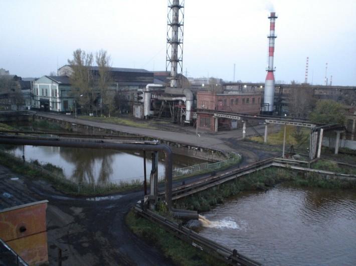 Завод в Электростали
