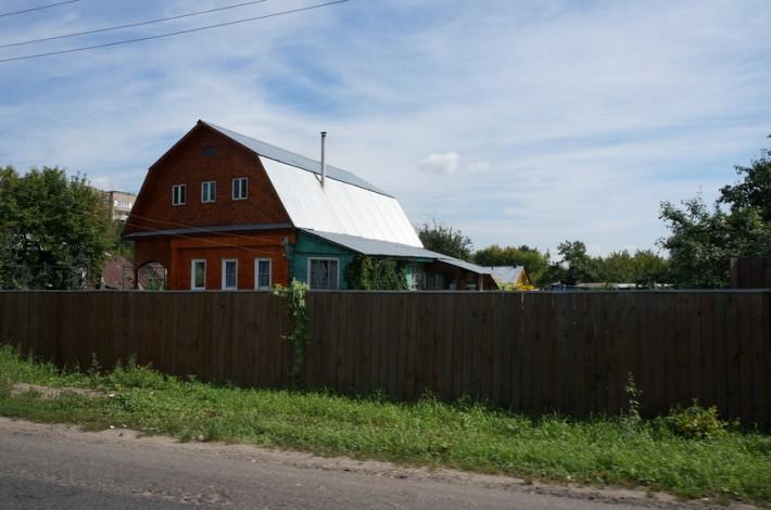 Восточка, частные дома