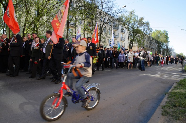 Парад 9 мая 2014 года