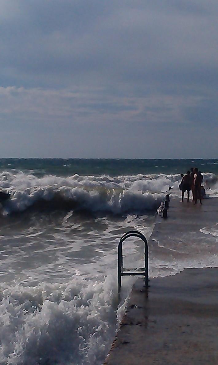 Такая погода бывает на черном море