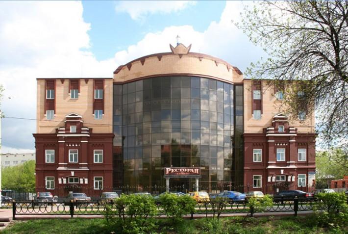 ТЦ Калипсо, бывшая ткацкая фабрика