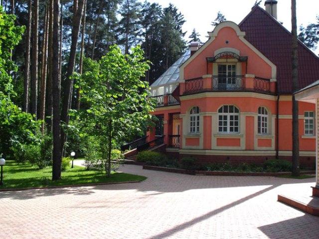 Типичный дом в Малаховке