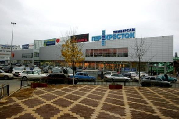 Торговый центр в районе вокзала