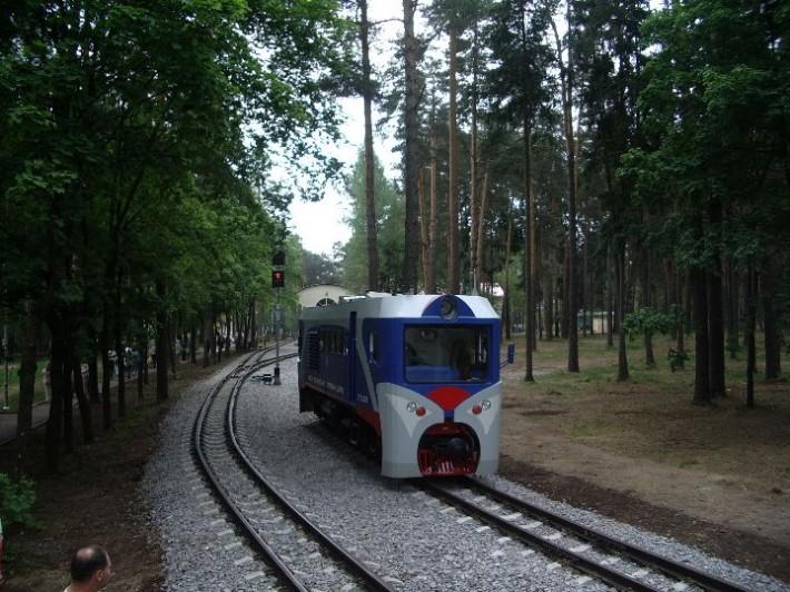 Кратово. Детская железная дорога