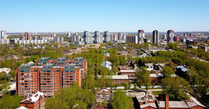 Новосибирск. Новостройки