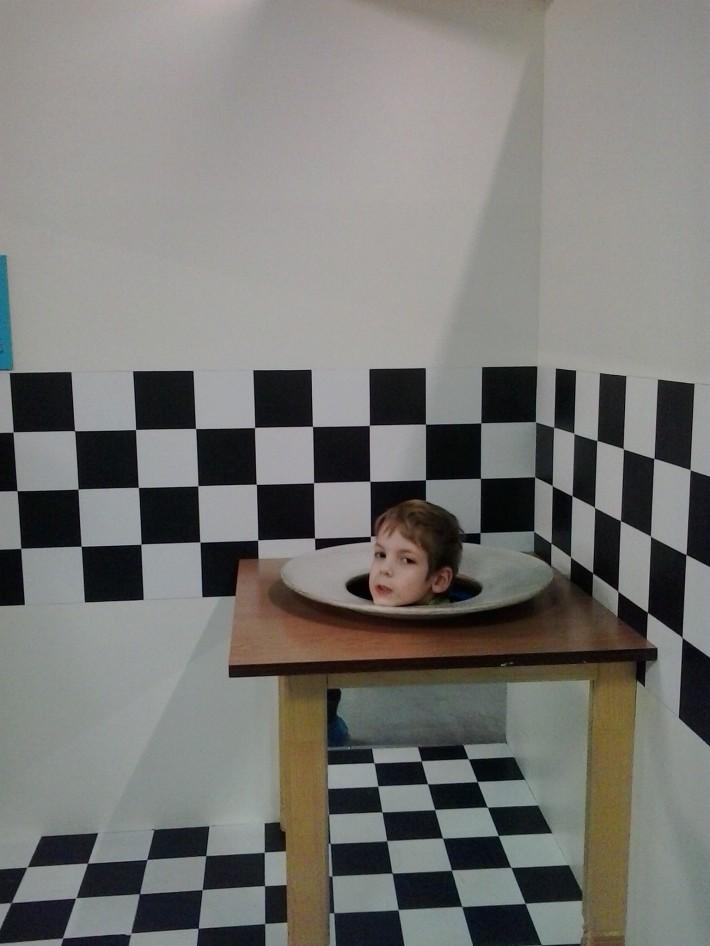В научно-развлекательном музее Умникум, г. Санкт-Петербург