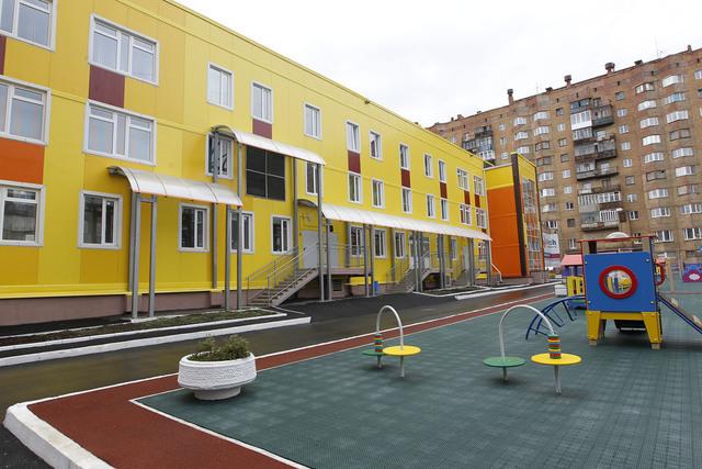 Новый детский сад в Норильске