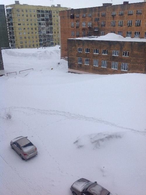 Вид из окна - июнь 2014