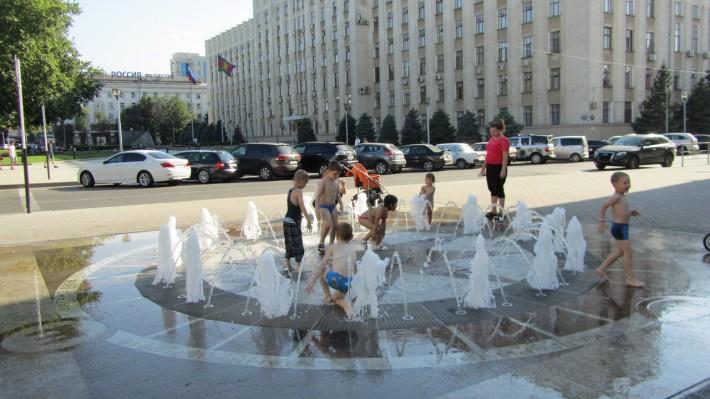 Один из таких фонтанов