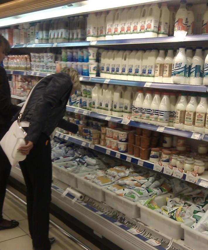 Перебои с молочной продукцией действительно были, но на данный момент весь товар представлен в хорошем ассортименте