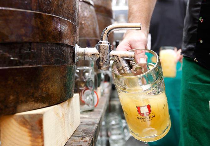 Знаменитое немецкое пиво