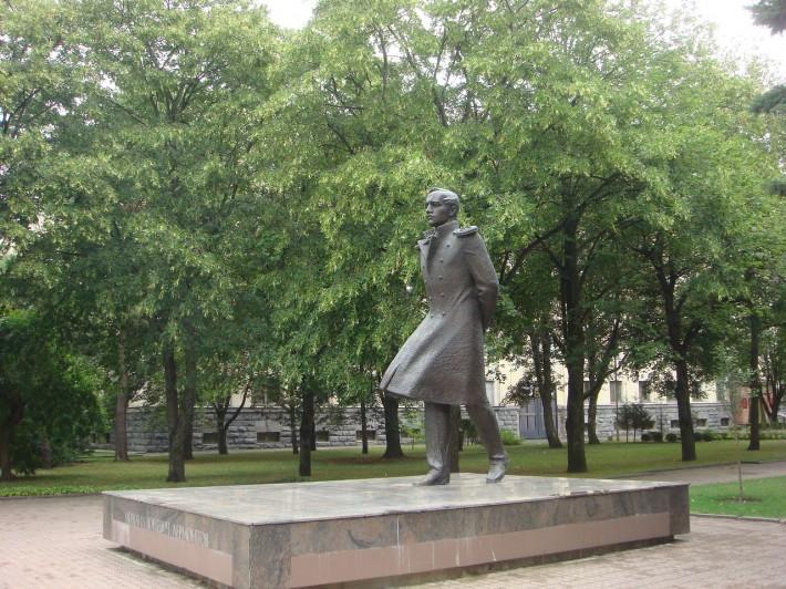 Ставропольский ветер дует в спину М.Ю. Лермонтову