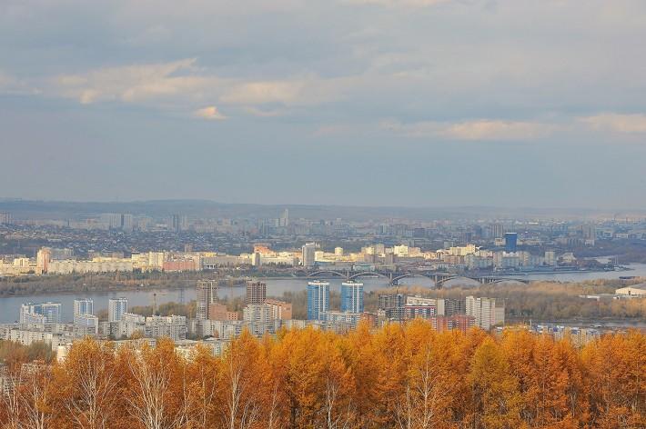 Красноярск осенью