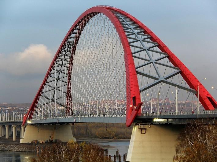 Новый мост через Обь