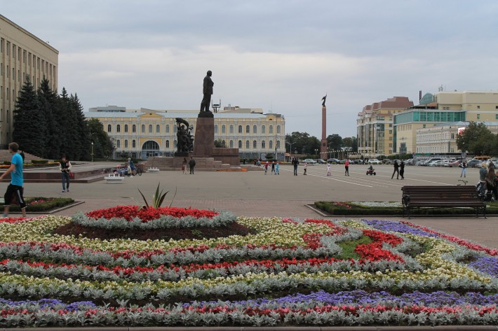 Площадь Ленина в Ставрополе