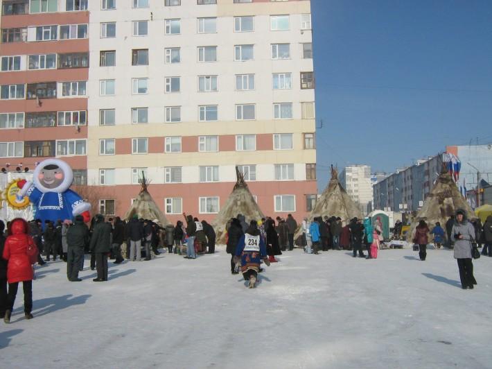 Праздник народов Севера - проводится ежегодно в последние выходные марта