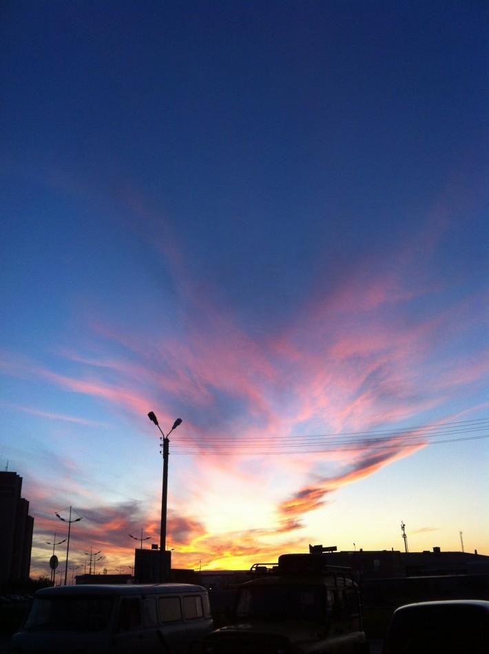 И снова небо Уренгоя ...