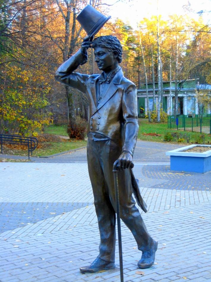 Памятник Г. Вицину в Зеленогорске