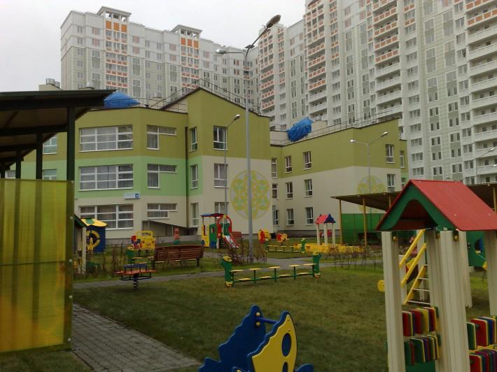 Новый детский сад микрорайона «Центральный»