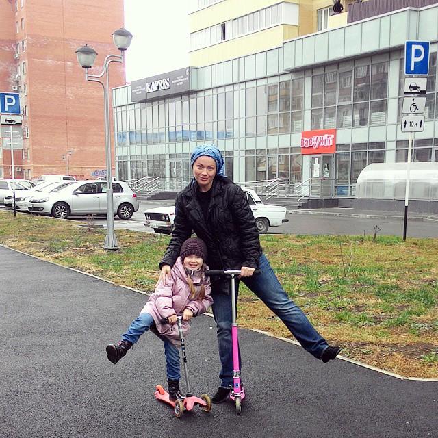 Я и моя дочь, 12 декабря 2014 года