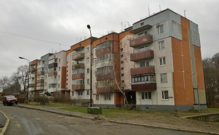 Жилая пятиэтажка в Мечниково