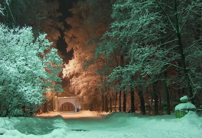 Один из парков города