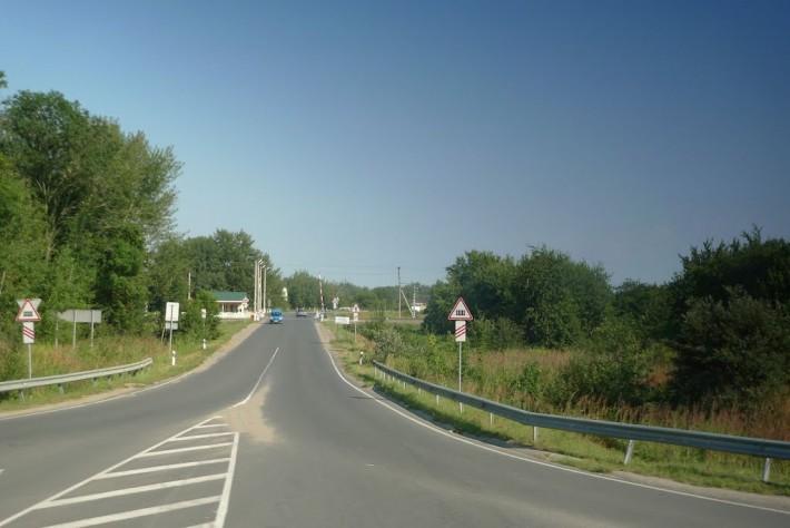 Въезд в Мечниково