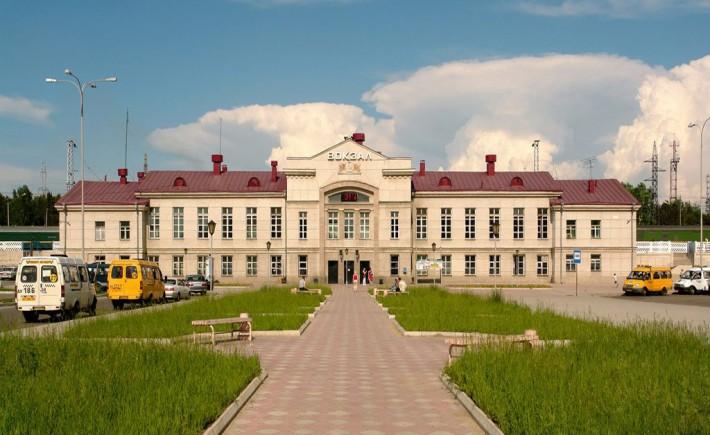 Вокзал Ангарска