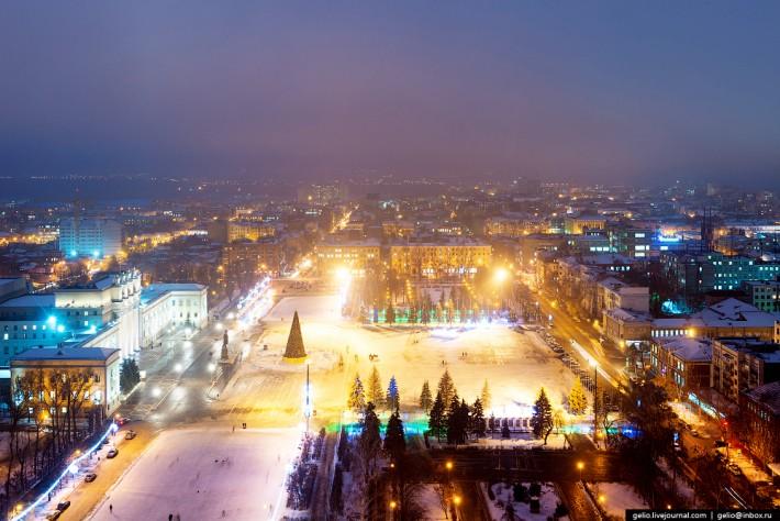 Площадь Куйбышева — самая большая по величине площадь в Европе