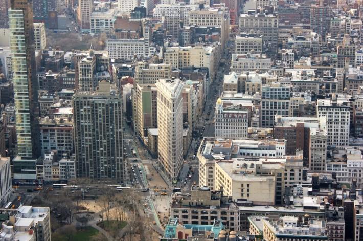 Нью-Йорк. Городской пейзаж