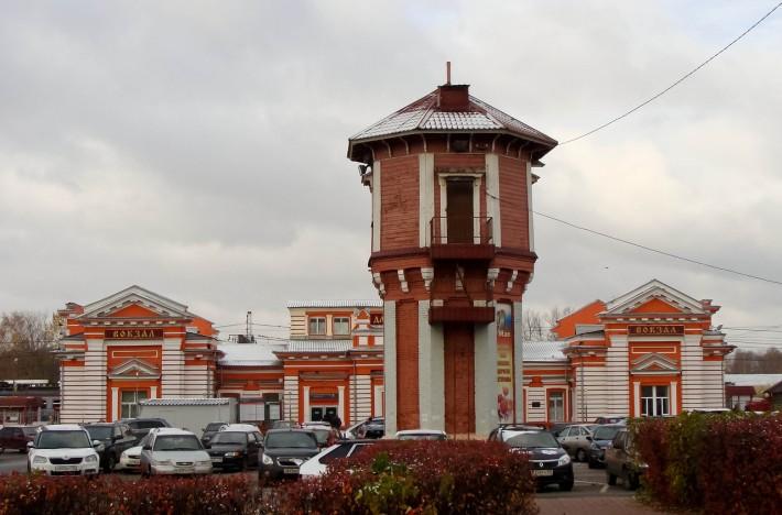 Вокзал в Дмитрове