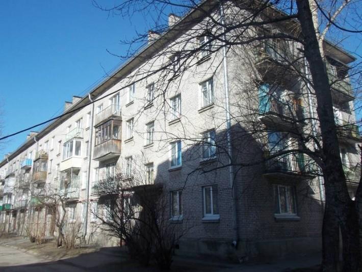Обычный дворик в центре