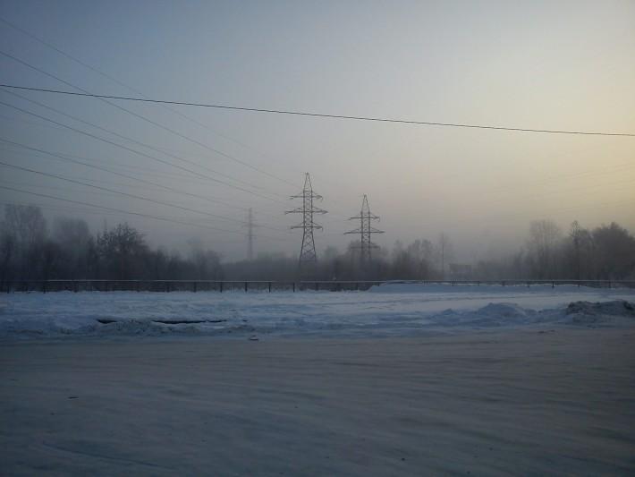 Зима в Томске
