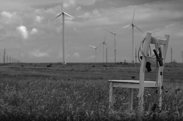 Электрические мельницы около Черноморского