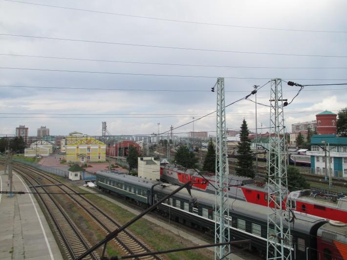 Новосибирский вокзал