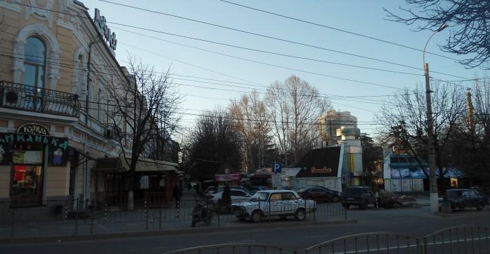 Проспект Кирова. Центр