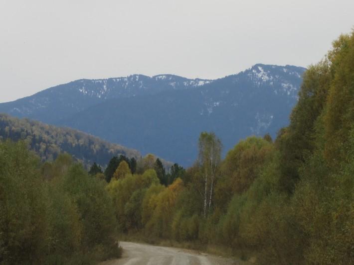 Дорога на Уймень
