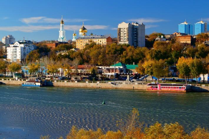 Панорама Ростова-на-Дону