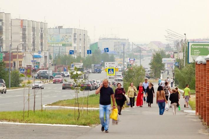 Вдоль по ул.Советской