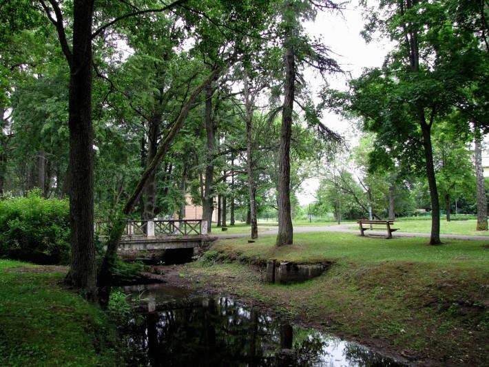 Парк в Кемери