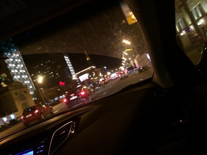 Москва никогда не спит. 3 часа ночи