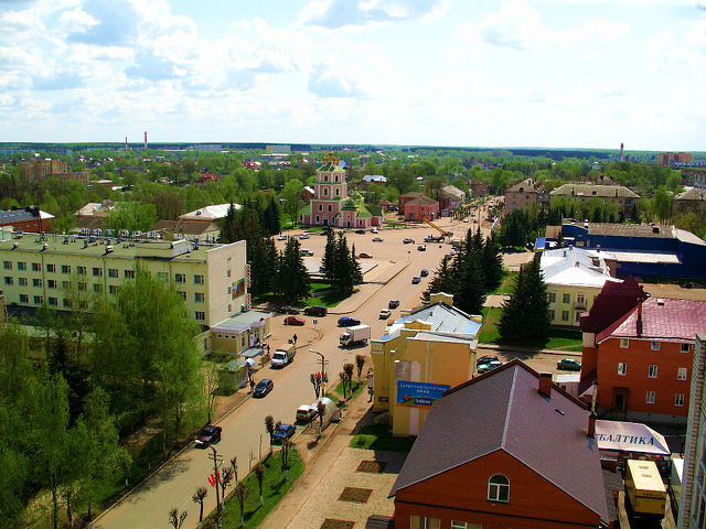 Гагарин - тихий, уютный городок, где почти все знают друг друга, где люди живут размеренно