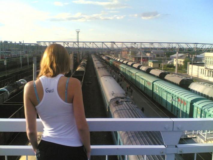 Остановка на пути в неизвестную Москву