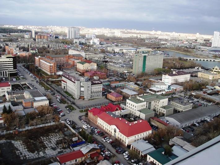 Вид на Северо-Запад Челябинска