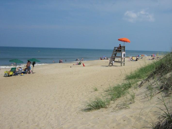 Пляж в Килл Дейвил Хиллс, Аутер Бэнкс