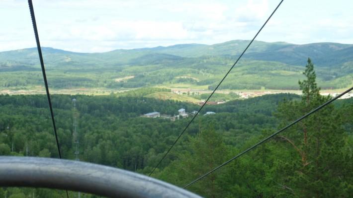 Красота гор в Абзаково