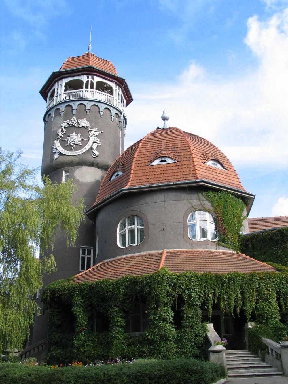 Светлогорск, водонапорная башня-грязелечебница