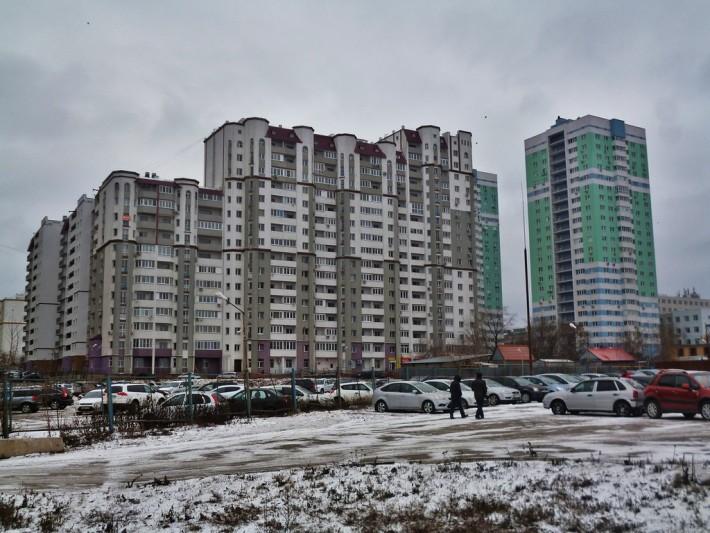 Блочные многоэтажки