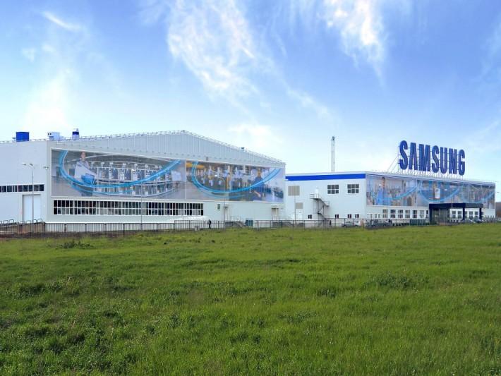 Завод Samsung в промзоне Ворсино